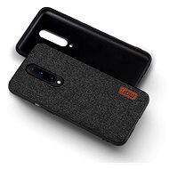 MoFi Fabric Back Cover Oneplus 8 Pro Černé - Kryt na mobil