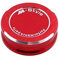M-Style víčko nádobky brzdové kapaliny - červené - Víčko nádobky brzdové kapaliny
