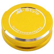 M-Style víčko nádobky brzdové kapaliny - zlaté - Víčko nádobky brzdové kapaliny