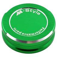 M-Style víčko nádobky brzdové kapaliny - zelené - Víčko nádobky brzdové kapaliny