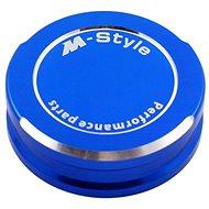 M-Style víčko nádobky brzdové kapaliny - modré - Víčko nádobky brzdové kapaliny