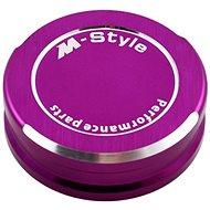 M-Style víčko nádobky brzdové kapaliny - fialové - Víčko nádobky brzdové kapaliny