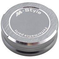 M-Style víčko nádobky brzdové kapaliny - titanově šedé - Víčko nádobky brzdové kapaliny