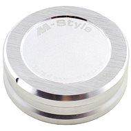 M-Style víčko nádobky brzdové kapaliny - stříbrné - Víčko nádobky brzdové kapaliny