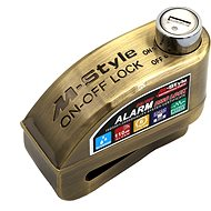 M-Style Moto lock with 2-in-1 alarm - Motorcycle Lock