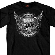 Hot Leathers Bold Eagle - black - Motorcycle t-shirt