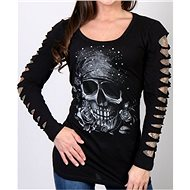 Hot Leathers Bandana Skull - Motorcycle t-shirt