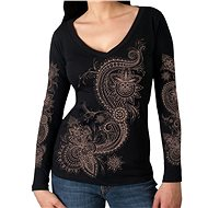 Hot Leather Lace Pattern - Motorcycle t-shirt