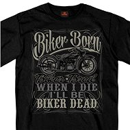 Hot Leathers Liquor Label - Motorcycle t-shirt