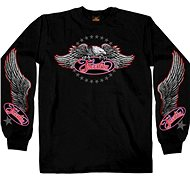 Hot Leathers Freedom Eagle Long - Motorcycle t-shirt