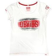 Devil's Girl Original white - Moto triko