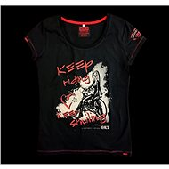Devil's Keep riding keep smiling - Moto triko