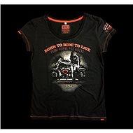 Devil's Girl Rider - Moto triko