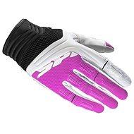 Spidi MEGA-X, (white / pink) - Motorcycle Gloves
