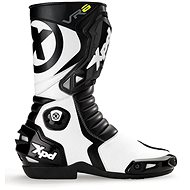XPD VR6 (černé/bílé) - Boty na motorku