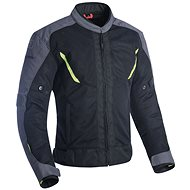 OXFORD DELTA 1.0 AIR Black/Grey/Fluo - Motorcycle jacket