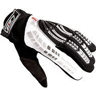 PIONEER pilot, black / white - Motorcycle Gloves