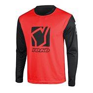 YOKO SCRAMBLE black / red - Motocross Jersey