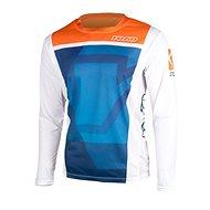 YOKO KISA blue / orange - Motocross Jersey