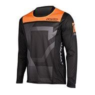 YOKO KISA černá / oranžová  - Motokrosový dres