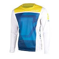 YOKO KISA modrá / žlutá  - Motokrosový dres