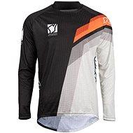 YOKO VIILEE černá / bílá / oranžová  - Motokrosový dres