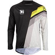 YOKO VIILEE černá / bílá / žlutá  - Motokrosový dres