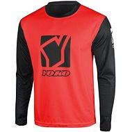 YOKO SCRAMBLE černá / červená  - Motokrosový dres