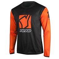 YOKO SCRAMBLE černá / oranžová  - Motokrosový dres