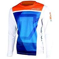 YOKO KISA modrá / oranžová  - Motokrosový dres