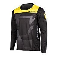 YOKO KISA černá / žlutá  - Motokrosový dres