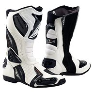PREXPORT Sonic WH - White - Motorcycle shoes