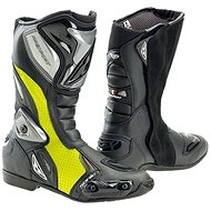 PREXPORT Sonic FL - yellow fluo - Motorcycle shoes