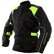Cappa Racing ROAD textilní černá/zelená - Bunda na motorku