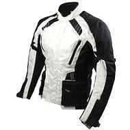 Cappa Racing KISO textilní černá/šedá - Bunda na motorku