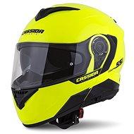 CASSIDA Compress 2.0 Refraction,  (žlutá fluo/černá/šedá) - Helma na motorku