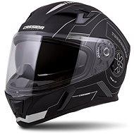 CASSIDA Integral 3.0 Turbohead,  (černá matná/stříbrná) - Helma na motorku