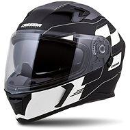CASSIDA Integral 3.0 RoxoR, (Matte Black/White/Grey) - Motorbike Helmet