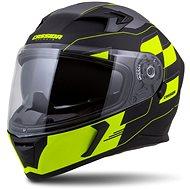 CASSIDA Integral 3.0 RoxoR,  (černá matná/žlutá fluo/šedá) - Helma na motorku