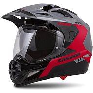 CASSIDA Tour 1.1 Spectre,  (šedá/červená/černá) - Helma na motorku