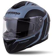 CASSIDA Integral GT 2.0 Ikon,  (černá matná/šedá) - Helma na motorku