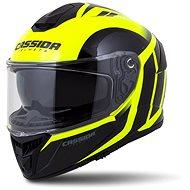 CASSIDA Integral GT 2.0 Ikon,  (žlutá fluo/černá) - Helma na motorku