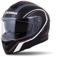 CASSIDA Integral GT 2.0 Reptyl,  (černá/bílá/červená) - Helma na motorku