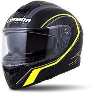 CASSIDA Integral GT 2.0 Reptyl,  (černá/žlutá fluo/bílá) - Helma na motorku