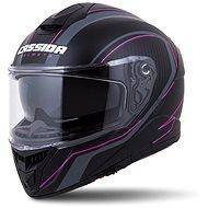 CASSIDA Integral GT 2.0 Reptyl,  (černá/růžová) - Helma na motorku