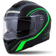 CASSIDA Integral GT 2.0 Reptyl,  (černá/zelená/bílá) - Helma na motorku