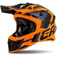 CASSIDA Cross Pro II Contra, (Orange/Black/Grey) - Motorbike Helmet