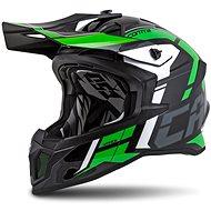 CASSIDA Cross Pro II Contra,  (zelená/černá/šedá/bílá) - Helma na motorku