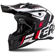 CASSIDA Cross Pro II Contra,  (bílá/červená/černá) - Helma na motorku