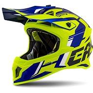 CASSIDA Cross Pro II Contra,  (žlutá fluo/modrá/černá/bílá) - Helma na motorku